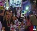 [20 May 2019] Anti-Netanyahu protesters take to Tel Aviv\'s Eurovision venue - English