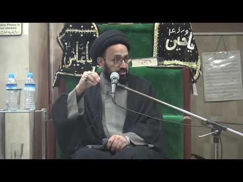 [Majlis] Wilayat-e-Ali (as) Say Inheraaf | H.I Sadiq Raza Taqvi - Urdu