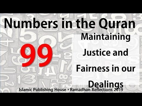 Maintaining justice and fairness in our dealings - Ramadhan Reflections 2019 [Day 20] - English