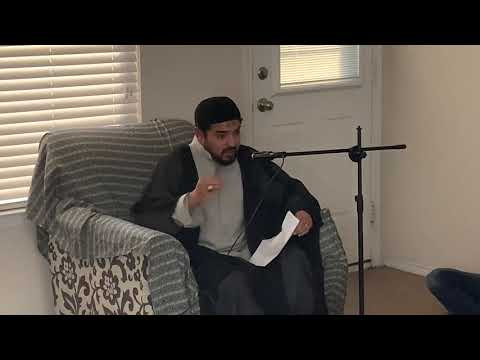 [Lecture] Topic: Reasons Behind Imam Mehdi (ajtf) Occulation | Moulana Syed Muzzamil Zaidi - Urdu