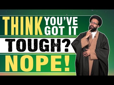 Think You\'ve Got It Tough? Nope! | One Minute Wisdom | English