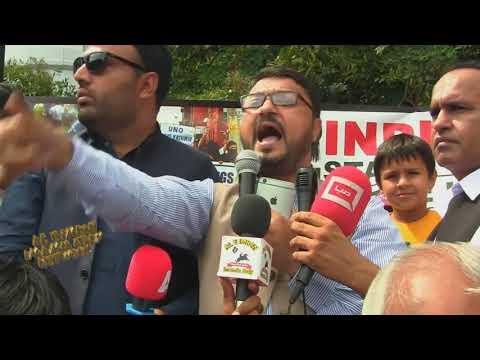 Protest for #Kashmir - Urdu