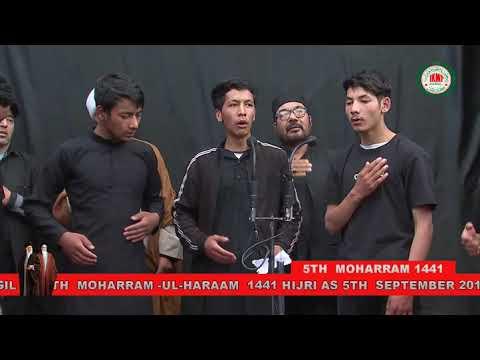 MAJLIS-E-AZADARI IMAM HUSSAIN UNDER THE BANNER OF IKMT KGL 5TH MOHRM | Kargili