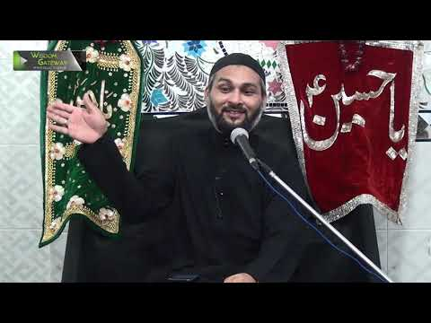[06] Topic: Nizam e Wilayat  | Syed Zaigham Rizvi | Muharram 1441/2019 - Urdu