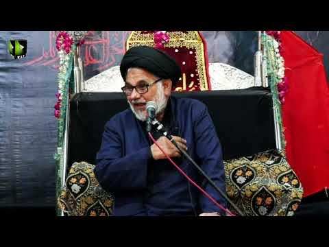 [05] Topic: Marjaeyat , Masomeen (as) ke Nigah May | H.I Hasan Zafar Naqvi | Muharram 1441/2019 - Urdu