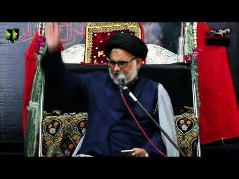 [07] Topic: Marjaeyat , Masomeen (as) ke Nigah May | H.I Hasan Zafar Naqvi | Muharram 1441/2019 - Urdu