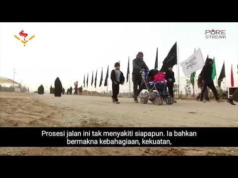 Mengapa Kita Berjalan Kaki Ketika Arbain? | Farsi sub Bahasa