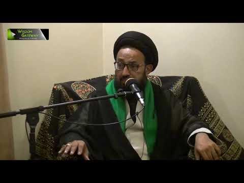 [04] Topic: Imam (aj) kay Liey Tayyari Or Rouhani Rabta | H.I Sadiq Taqvi | Safar 1441 - Urdu