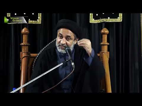 [07] Topic: Karbala Sirat e Mustaqeem | H.I Muhammad Haider Naqvi | Safar 1441 - Urdu