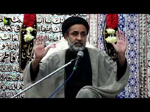 [Majlis e Aza] Khitaab: H.I Muhammad Haider Naqvi | Safar 1441/2019 - Urdu