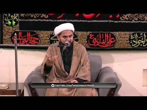 [03] Topic: Taqwa - تقوی   H.I Moulana Muhammad Nawaz   Muharram 1441 - Urdu