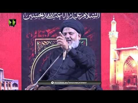 [01] Topic: Farsh-e-Aza ki Ahmiyat   H.I Hassan Raza Hamdani   Safar 1441-2019   Urdu