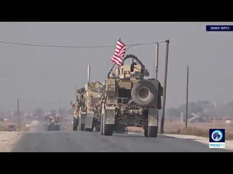 [02/11/19] U.S. troops patrol near Turkey-Syria border - English