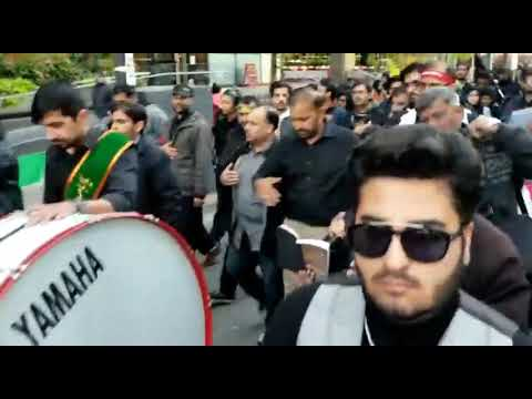 [Noha] Alamdar Moosavi | Arbaeen Walk Downtown, Toronto - Urdu