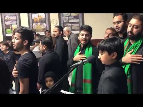 [Noha] Goonj Rahi hai ye sada ya Hussain | Alamdar Moosavi | Husainayh Passmore Toronto - Urdu