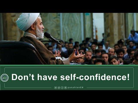 [Clip] Don't have self confidence!   Ali Reza PanahianNov.27,2019 Farsi Sub English