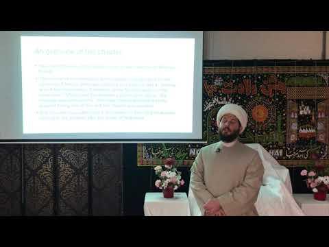 Tafseer of Sura Al-Mumtahanah - Session 1 - Sh. Humza Sodagar - English
