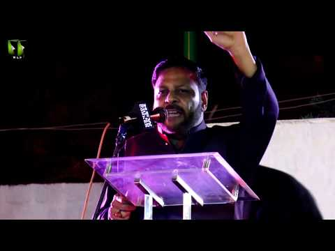 [Speech] Tahafuz-e-Namoos-e-Imam Mehdi (as) Conference   Janab Rashid Rizvi - Urdu