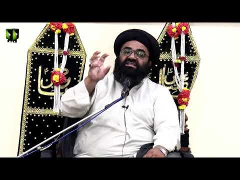 [Majlis 1] Topic: Al-Shafiya, Al-Shaheeda, As-Siddiqa | H.I Kazim Abas Naqvi | Ayaam-e-Fatimiya 1441 - Urdu
