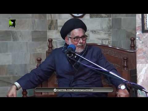 [02]Maqam o Manzilat e Dukhtar e Rasool(s.a.w.w)  | مولانا سیّد حسن ظفر نقوی | Urdu