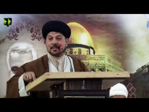 [Seminar] Takreem Shohada Maqawamat Wa Muhafizaan e Hareem e Alaybait (as) | H.I Syed Baqir Zaidi - Urdu
