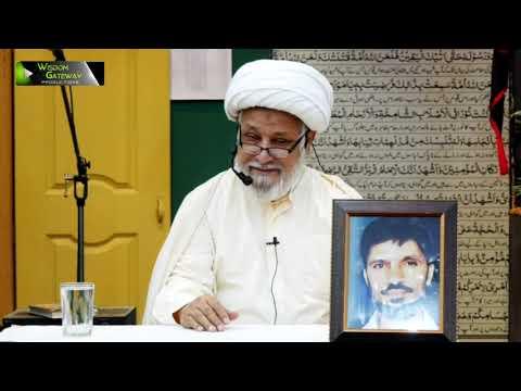 [03] Dars-e-Ikhlaaq | درس اخلاق | H.I Ghulam Abbas Raesi | 04 March 2020 - Urdu