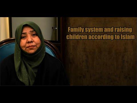 Family system and raising children according to Islam | Class 3 | Khanam Sakina Mahdavi - Urdu