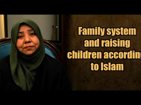 Family system and raising children according to Islam | Class 5 | Part 1 | Khanam Sakina Mahdavi - Urdu