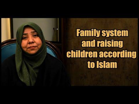 Family system and raising children according to Islam | Class 5 | Part 2 | Khanam Sakina Mahdavi - Urdu