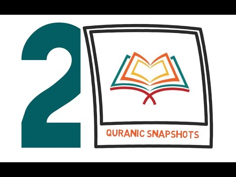 [Buid relationship with Quran] Quranic Snapshot of one Ayat from the Juz#2 - English