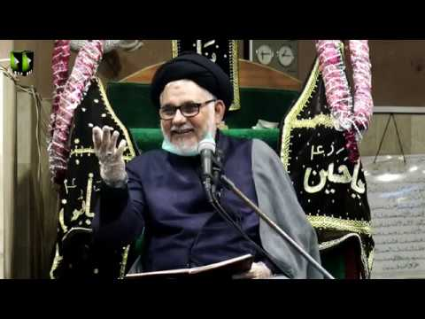 [Majlis 3] Ayaam-e-Shahadat Imam Ali (as) | H.I Hasan Zafar Naqvi | 1441/2020 - Urdu
