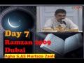 7th Ramzan 09 Dubai- Sura Sabaa -by Agha AMZaidi - Urdu