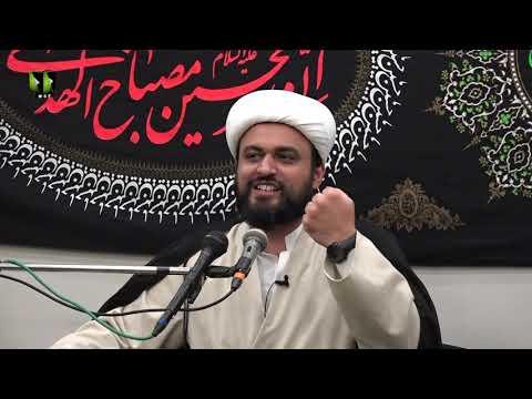 [02] Insan Ki Zindagi Kay Char Aham Safar   حجّۃ الاسلام مولانا محمد علی فضل   Urdu