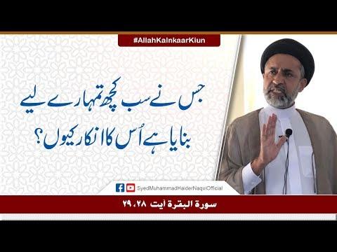 Jis Nay Sab Kuch Tumhary Liay Banaya Hay Us Ka Inkaar Kiun? || Ayaat-un-Bayyinaat