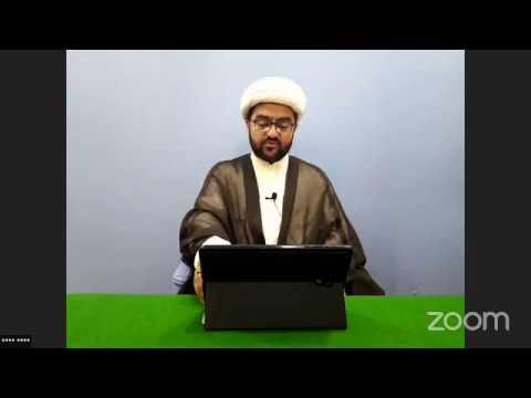 [18] Dua o Munajat | Saheefa e Sajadiya Dua#31 | H.I Muhammad Nawaz | 18th Ramazan 1441-12 May 2020 - URDU
