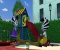 [Cartoon] Zou Little Zebra - Zou up high - English