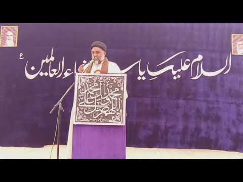 [Speech] Maulana Qalb e Abbas Naqvi   19th Jashan e Wiladat e Hazrat Fatimah s.a  - Urdu