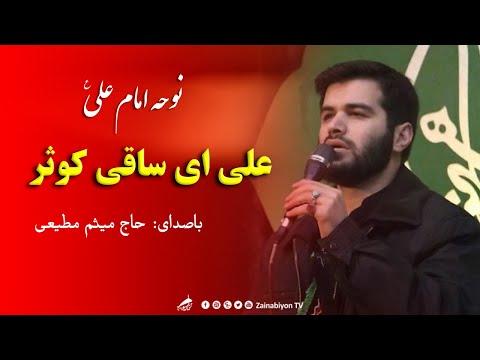 علی ای ساقی کوثر - میثم مطیعی | نوحه امام علی سوزناک | Farsi