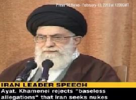 Imam Khamenei(HA): Iran NOT After Nukes - 19Feb10 - English