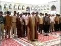 Salat-e-Zohrain by Hujjatul Islam Khazaei from Sehan-e-Enqalab - Haram of Imam Ridha as - Mashad - Arabic