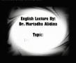 Dr. Alidina The themes meaning of Ziyarat Waritha Hussein - English