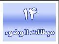 نور الاحکام 14 مبطلات الوضو -  Noor ul Ahkaam - Mubtilaat e Wudu Things that Invalidate Wudu Arabic
