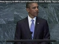 Obama Hypocrisy On NNTP in Speech To United Nations General Assembly - 23 SEP 2010 - English