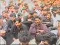 Maulana Syed Irfan Naqvi - 10 muhrram 1430 in markazi joloos e azadari kolab jail khairpur sindh Part 1 - Sindhi