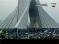 Millions of Defenders of Walayat celebrating Islamic Revolution Day 2011 - Farsi