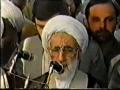 Funeral Prayers of Allama Arif Hussaini by Ayatullah Jannati 1988 - Arabic Urdu