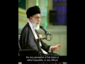 Sayyed Ali Khamenei on Knowledge and Wisdom of Sayyeda Fatima (s.a.) - Farsi sub English