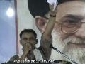 Tarana Ali Deep Rizvi ( 22nd Death anniversary program of Imam Khomaini - Karachi ) 04 June 2011 - Urdu