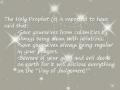 Holy Prophet Hadith - English