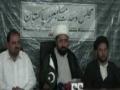 MWM Press conference Parachanar relief convoy - Islamabad - 25 July 2011 - Urdu